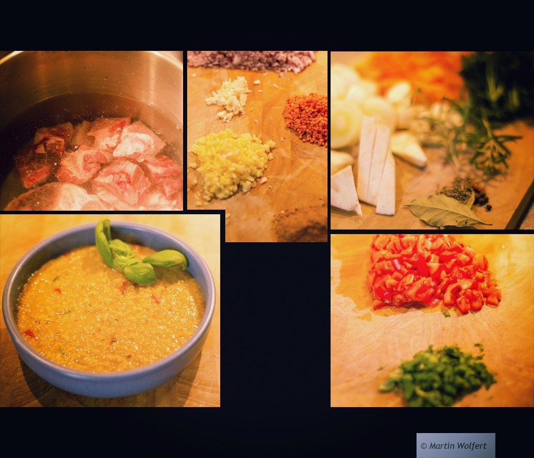 Making of Dal Soup #216